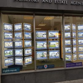 LED Estate Agents Property Displays in Hawick, Borders, Scotland